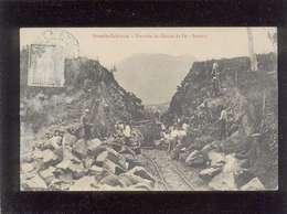 Nouvelle Calédonie Tranchée Du Chemin De Fer Dumbia Train Forçats ? - Nouvelle-Calédonie
