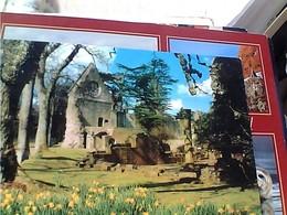 SCOTLAND: The Cloisters, Dryburgh Abbey STAMP TIMBRE SELO 3 P GX5727 - Scozia