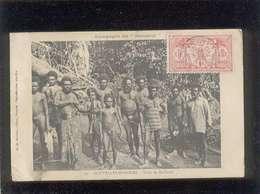 Nouvelles Hébrides Campagne Du Kersaint Tribu De Mallicolo édit. G. De Béchade  Hommes Nus - Postcards