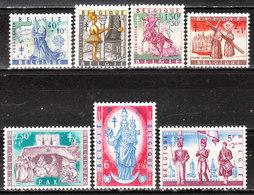 1082/88**  Légendes Et Folklore Belges - Série Complète - MNH** - Vendu à 10% Du COB!!!! - Unused Stamps