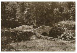 (086) Very Old Postcard - UK - Scotland - Old Bridge In Carnoustie (1915) - Bridges