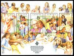 Canada (Scott No.1523a - Année Internationale De La Famille) [**] BF / SS - Blocs-feuillets