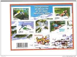 Bloc Feuillet N° 4329, Skis Alpins - Mint/Hinged