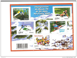 Bloc Feuillet N° 4329, Skis Alpins - Neufs