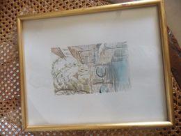 Tres BELLE AQUARELLE SIGNE PEYRAC - Watercolours