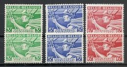 BELGIE/BELGIQUE  1945 * Nr SP 288/90A * Postfris Xx - Chemins De Fer