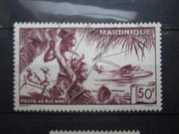 VEND BEAU TIMBRE DE POSTE AERIENNE DE MARTINIQUE N° 13 , (X) !!! - Poste Aérienne
