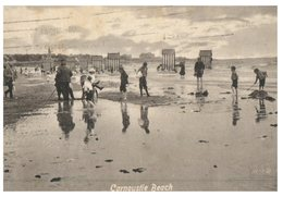 (086) Very Old Postcard - UK - Scotland - Carnoustie Beach (1913 Posted To Summer Hill, Sydney, Australia) - Angus