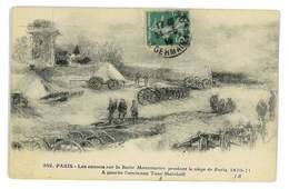 CPA 75 PARIS LES CANONS SUR LA BUTTE MONTMARTRE PENDANT LE SIEGE DE PARIS - Sonstige
