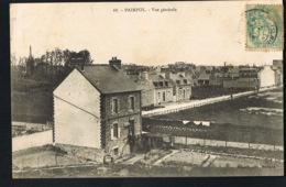 PAIMPOL  -22-Vue Générale - -CPA Voyagée 1906- Recto Verso- Paypal Sans Frais - Paimpol