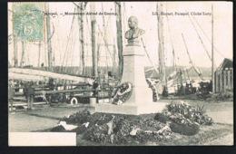 PAIMPOL  -22-Monument Alfred De Courcy -CPA Voyagée 1905 -Recto Verso- Paypal Sans Frais - Paimpol