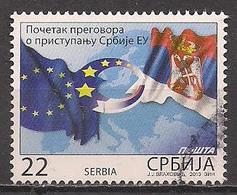 Serbien  (2014)  Mi.Nr.  538  Gest. / Used  (5ac23) - Serbia