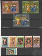 TURKS Et CAÏQUES NOËL Années 1971/77   Neufs** Côte: 13,50 € - Turks & Caicos (I. Turques Et Caïques)