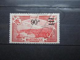 VEND BEAU TIMBRE DE MARTINIQUE N° 114 , X !!! - Martinique (1886-1947)