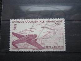 VEND BEAU TIMBRE DE POSTE AERIENNE D ' A.O.F. N° 12 , XX !!! - A.O.F. (1934-1959)