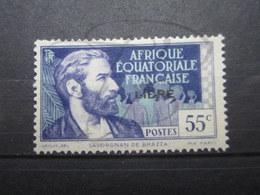 VEND BEAU TIMBRE D ' A.E.F. N° 108 , X !!! - A.E.F. (1936-1958)