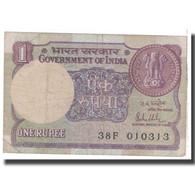 Billet, Inde, 1 Rupee, 1981, KM:78a, B - Inde