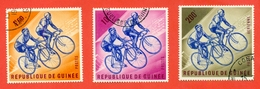 Guinea 1963.Bicycle. Used Stamps. - Guinea (1958-...)