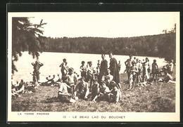 AK La Terre Promise, Le Beau Lac Du Bouchet - Pfadfinder-Bewegung