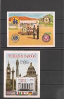 TURKS Et CAÏQUES   Année 1980 Blocs N° Y/T : 22-26** - Turks & Caicos (I. Turques Et Caïques)