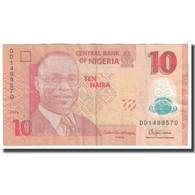 Billet, Nigéria, 10 Naira, 2016, KM:39c, TTB - Nigeria
