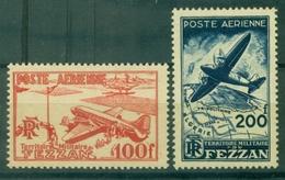 FEZZAN PA N° 4 / 5 N Xx TB Cote : 25 € (maury ) . - Fezzan (1943-1951)