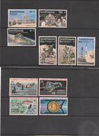 TURKS Et CAÏQUES  Espace  Années 1972/77  Neufs** - Turks & Caicos (I. Turques Et Caïques)