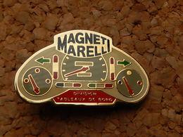 Pin's -   TABLEAU DE BORD - MAGNETI MARELLI - Badges