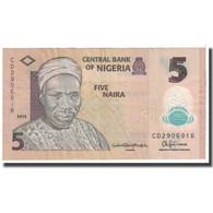 Billet, Nigéria, 5 Naira, 2009, KM:38, TTB - Nigeria