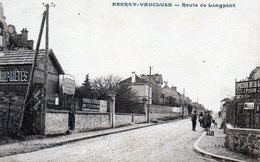 Perray-Vaucluse. Route De Longpont. (Epicerie De La Gare, Agence De Location). - France