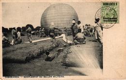 MAROC - CASABLANCA - GONFLEMENT DU BALLON MILITAIRE - Casablanca