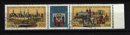 DDR - Mi-Nr. 2343 / Zf / 2344 WZd 371 Briefmarkenausstellung Jugend Gestempelt (3) - [6] República Democrática