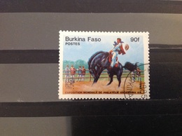 Burkina Faso - Paarden (90) 1985 - Burkina Faso (1984-...)