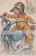 CPA  A SYSTEME GERMAINE BOURET '' ON A BEAU CORNER CES PASSANTS CA S'DERANGE PAS'' (IDA N° 631) - Bouret, Germaine