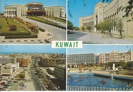 CPM, N°69, Koweit , Multi Vues , Ed. Azmat Sheikh 1985 - Koweït