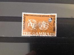 Gambia - Dag Van De Telecommunicatie (85) 1981 - Gambia (1965-...)