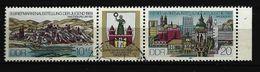 DDR - Mi-Nr. 2903 / ZF / 2904 WZd 609 Briefmarkenausstellung Der Jugend Magdeburg Gestempelt (5) - [6] República Democrática
