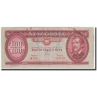 Billet, Hongrie, 100 Forint, 1962, 1962-10-12, KM:171c, TTB - Hongrie