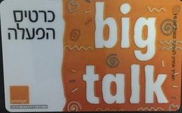 Paco \ ISRAELE \ ORANGE 003 \ Big Talk \ Usata - Israele