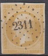 PC   2311   NUITS  SUR  ARMANCON    (83  - YONNE)  SUR  13 - 1849-1876: Klassieke Periode