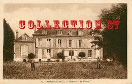 """28 ☺♦♦ ARROU < CHATEAU """" LA FOREST """" - France"""