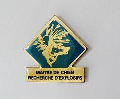 Pin's Maitre De Chien Recherche D'explosifs - 41R - Army