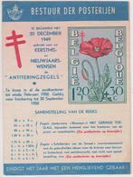 BELIGIE POSTTARIEVEN 1950 / Postfolder - Pubblicitari