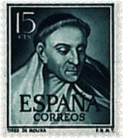Ref. 258426 * NEW *  - SPAIN . 1953. MEN OF LETTERS. LITERATOS - 1951-60 Nuovi
