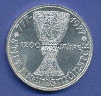 Österreich 100-Schilling Silber-Gedenkmünze 1977, Stift Kremsmünster - Oesterreich