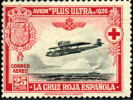 Ref. 210290 * NEW *  - SPAIN . 1926. SPANISH RED CROSS. CRUZ ROJA ESPA�OLA - 1889-1931 Reino: Alfonso XIII