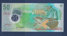 MALDIVES-50-UNC-SEE-SCAN - Maldives