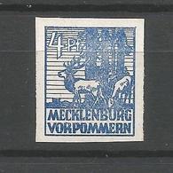 SBZ, Abschiedsserie, Nr. 30 X** Postfrisch - Sowjetische Zone (SBZ)