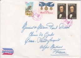 1983 - STORIA POSTALE - AMERICA - USA - AIR MAIL - USPO - TALLAHASSEE FLORIDA - Amérique Centrale