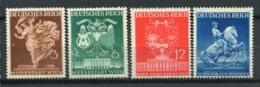 Empire D'Allemagne 1941 Mi. 768-771 Neuf ** 80% Foire De Vienne - Neufs